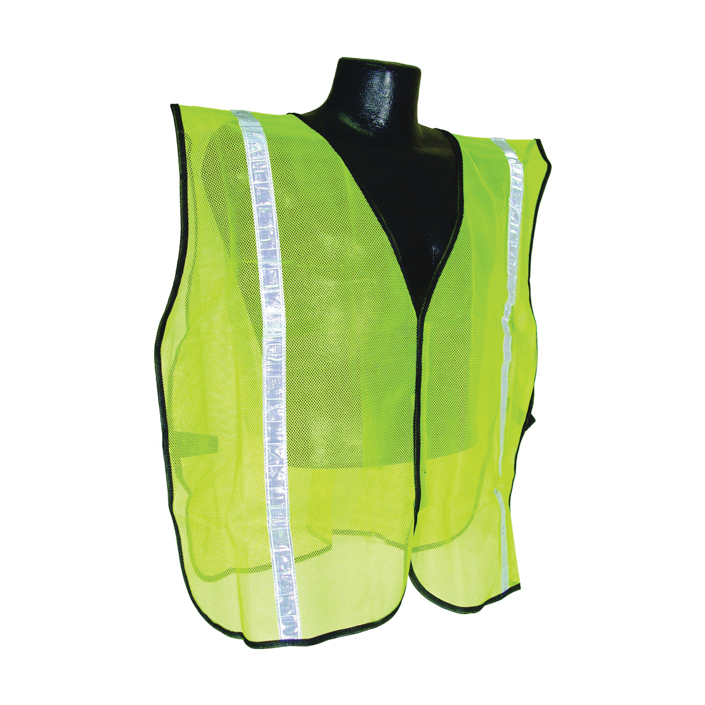 Picture of RADWEAR SVG1 Safety Vest, S/XL, Polyester, Green/Silver, Hook-and-Loop Closure