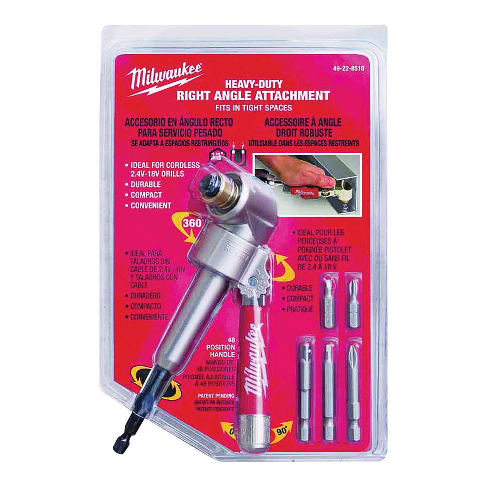 Picture of Milwaukee 49-22-8510 Drill Attachment, Heavy-Duty, Steel