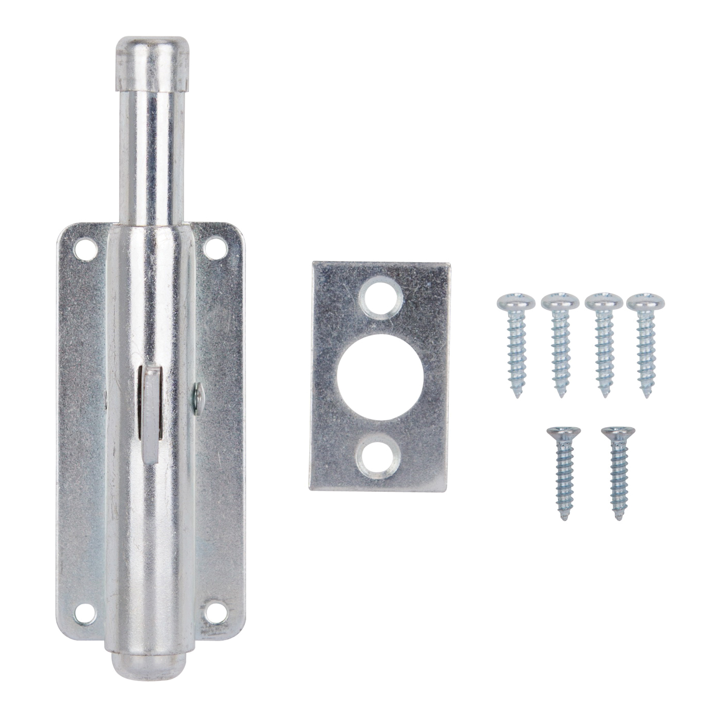 Picture of ProSource 33083ZCB-PS Foot Bolt, 4 in L Bolt, Steel, Zinc