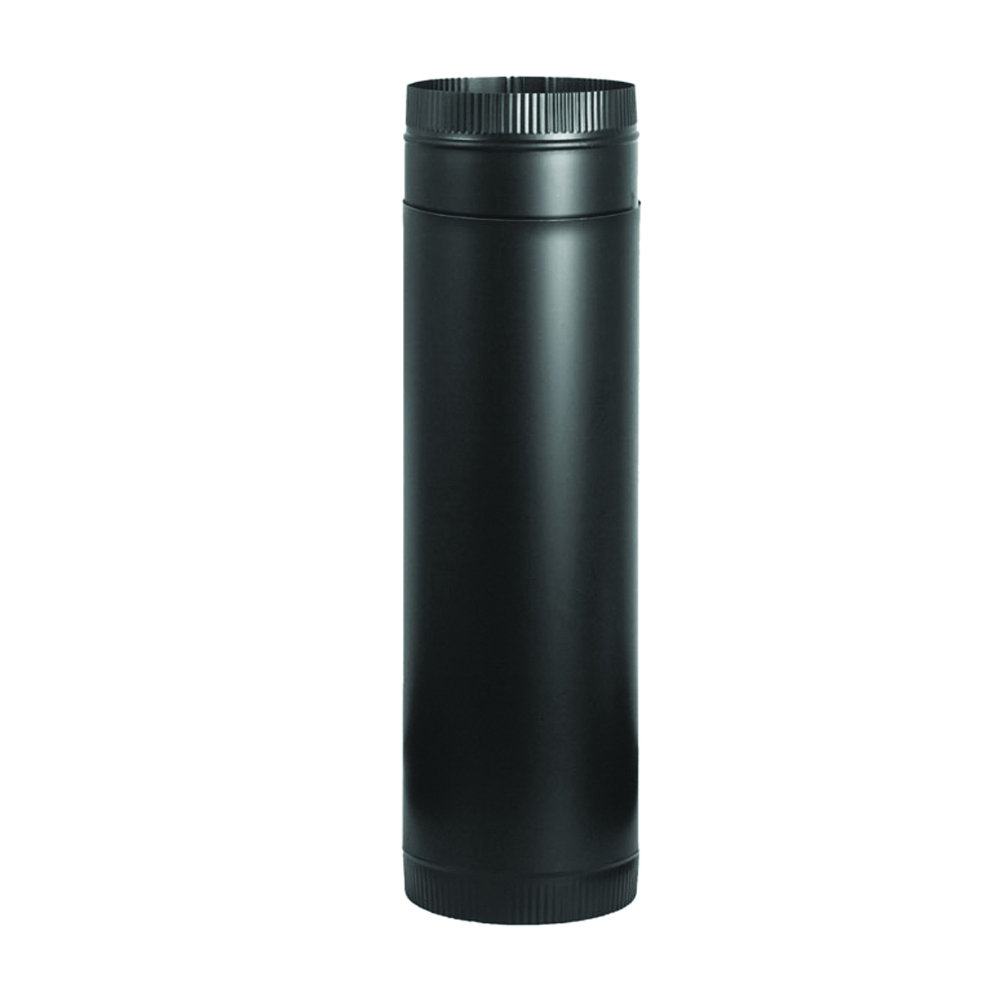 Picture of Imperial BM0124 Stove Pipe, 7 in Dia, Steel, Black