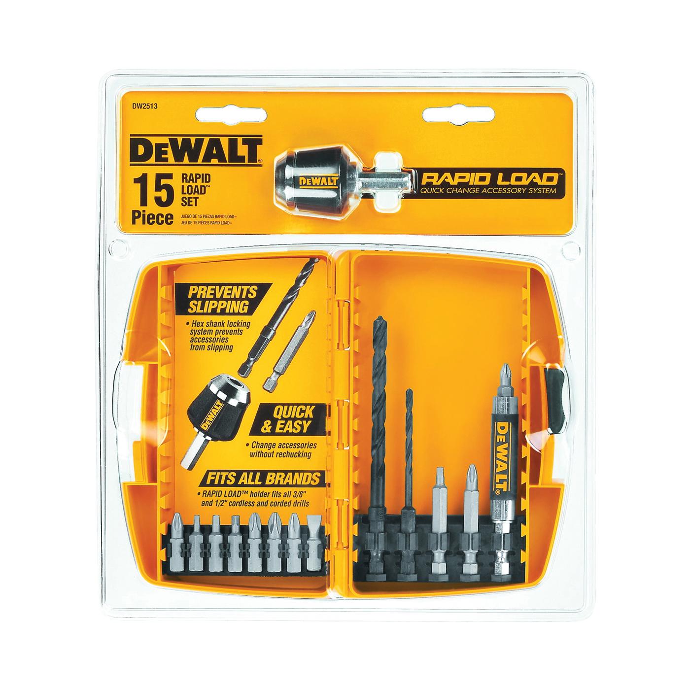 Picture of DeWALT DW2513 Drill Bit Set, 15 -Piece, Steel