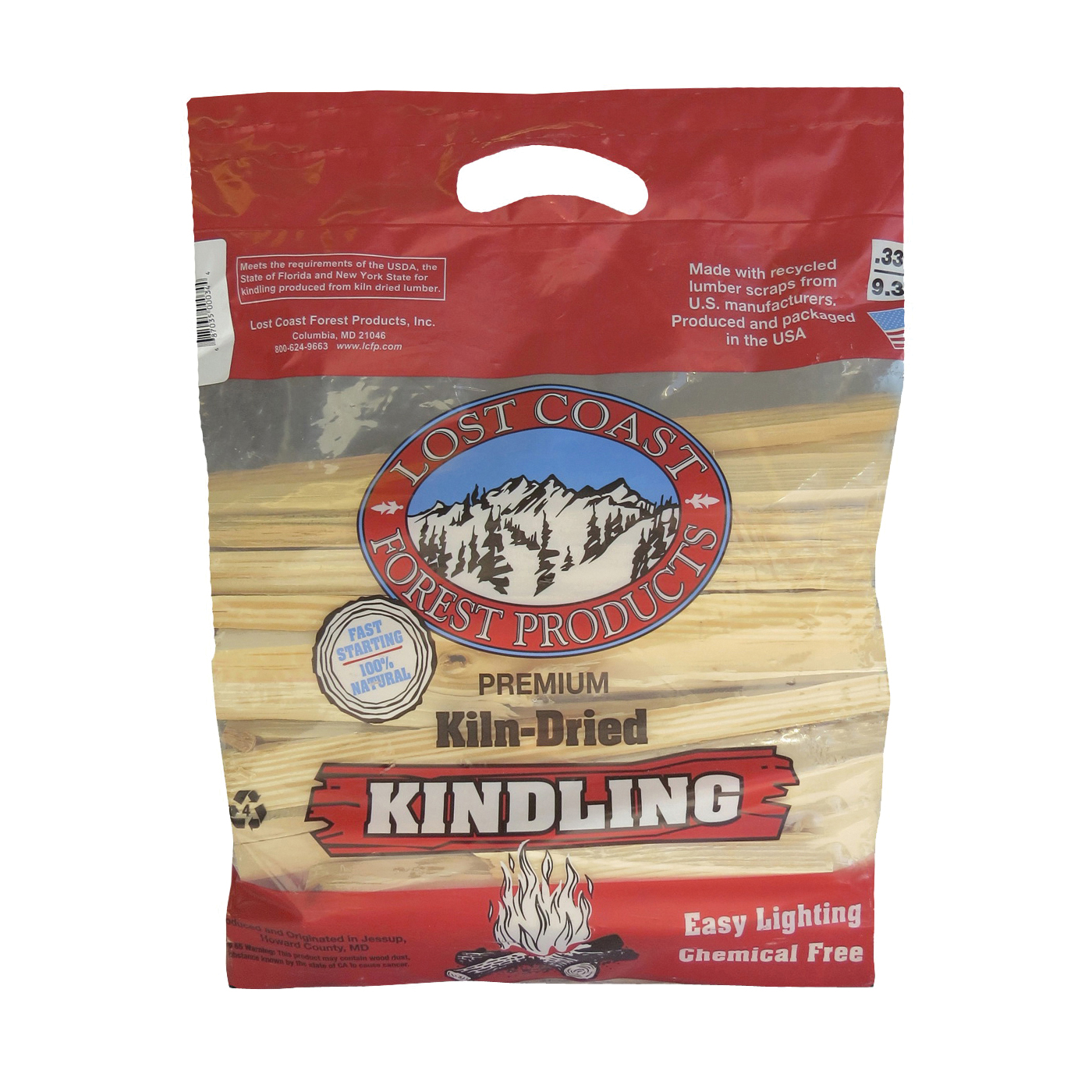 Picture of LOST COAST FOREST PRODUCTS 00033 Seasoned Kindling Bag, Bag
