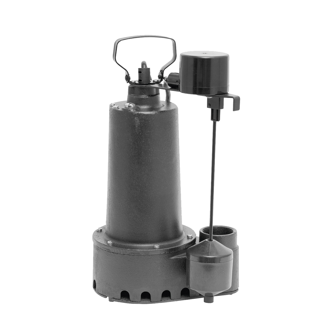 Picture of SUPERIOR PUMP 92352 Sump Pump, 7.6 A, 120 V, 0.33 hp, 1-1/2 in Outlet, 60 gpm, Iron