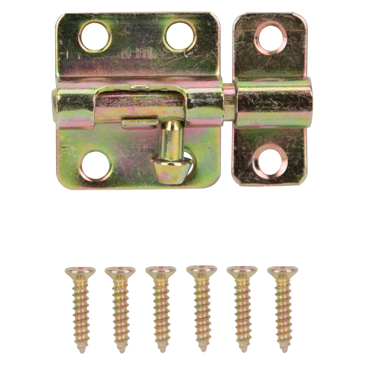 Picture of ProSource 20483CZB-PS Barrel Bolt, Steel, Satin Brass