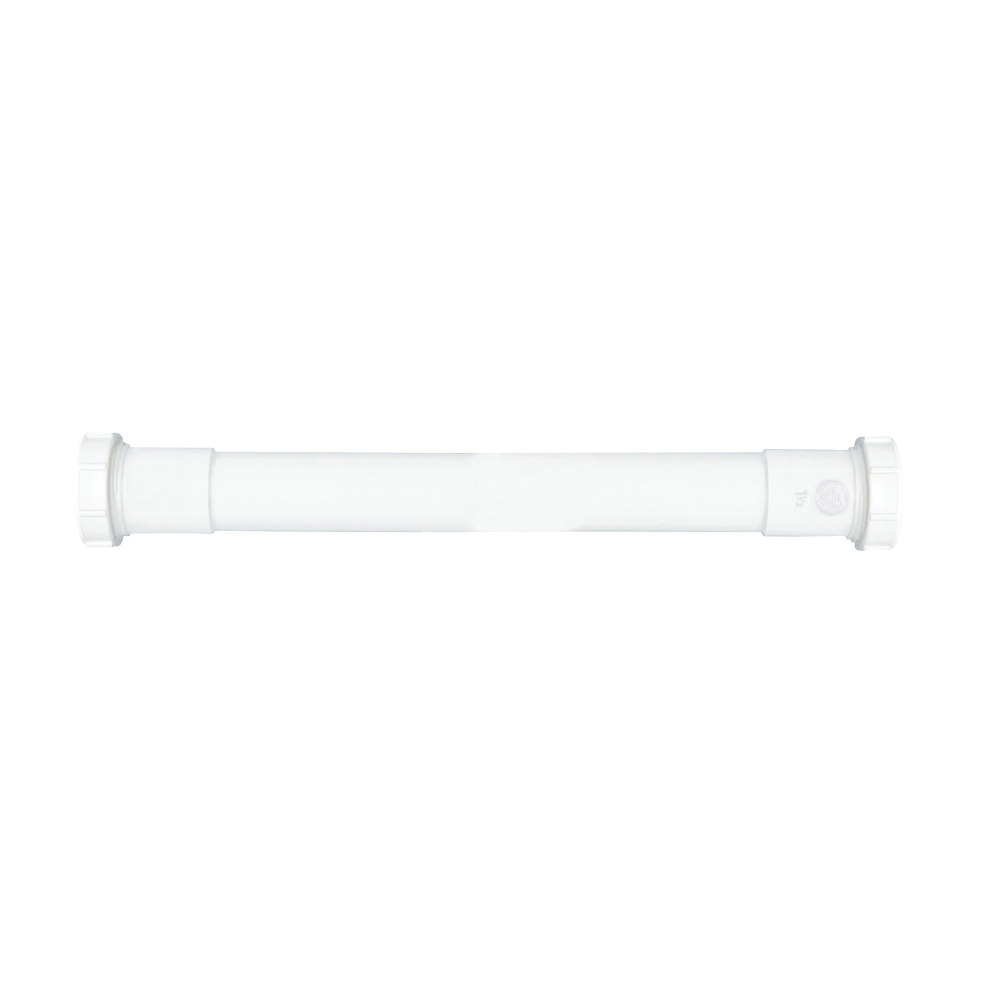 Picture of Plumb Pak PP42-16W Extension Tube, 1-1/4 in, 16 in L, Slip Joint, Plastic, White