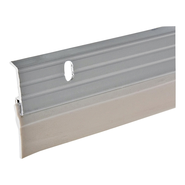 Picture of Frost King W59/36H Door Sweep, 36 in L, 1-5/8 in W, Aluminum Flange, Vinyl Insert