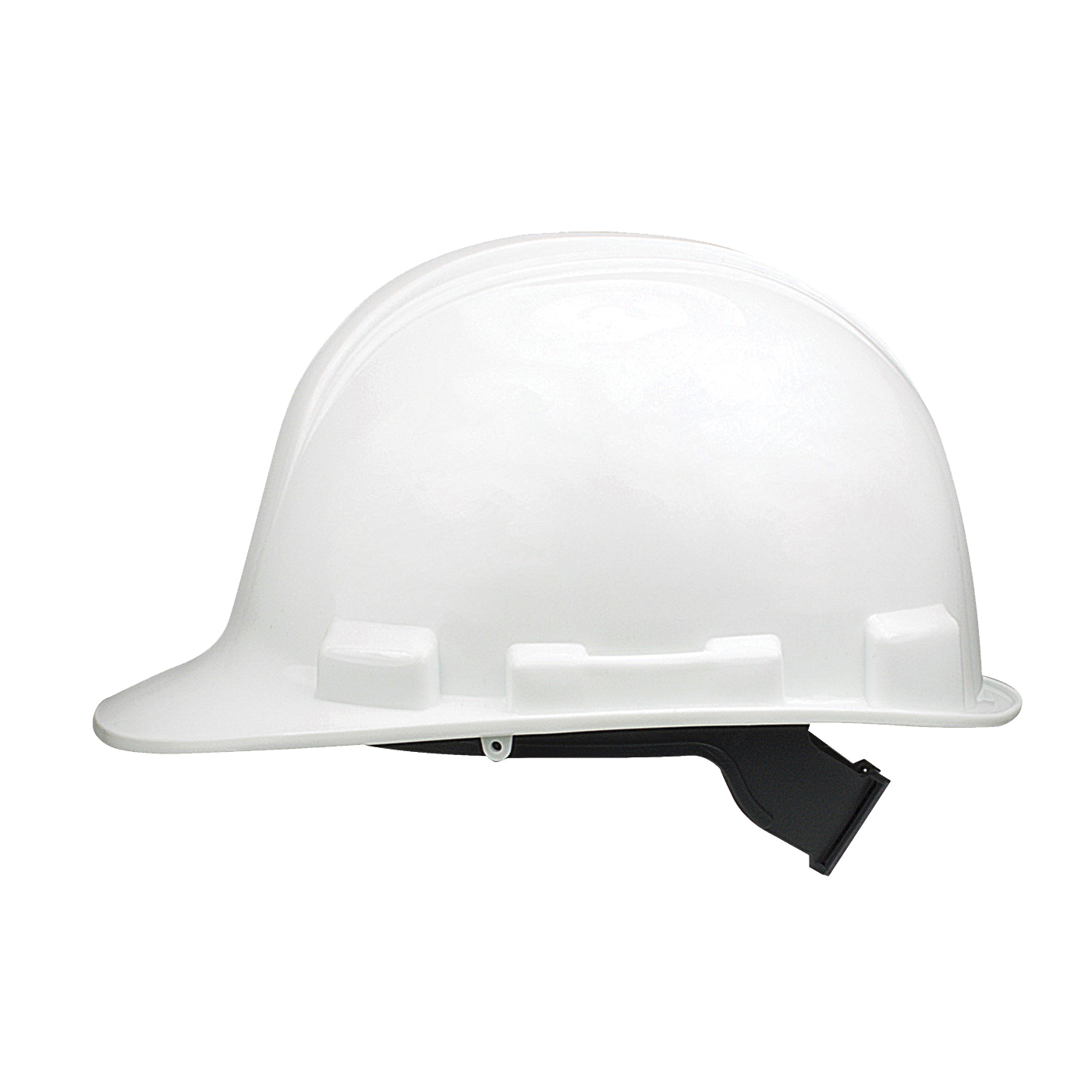 Picture of MSA SWX00344 Hard Hat, 4-Point Textile Suspension, HDPE Shell, White, Class: E