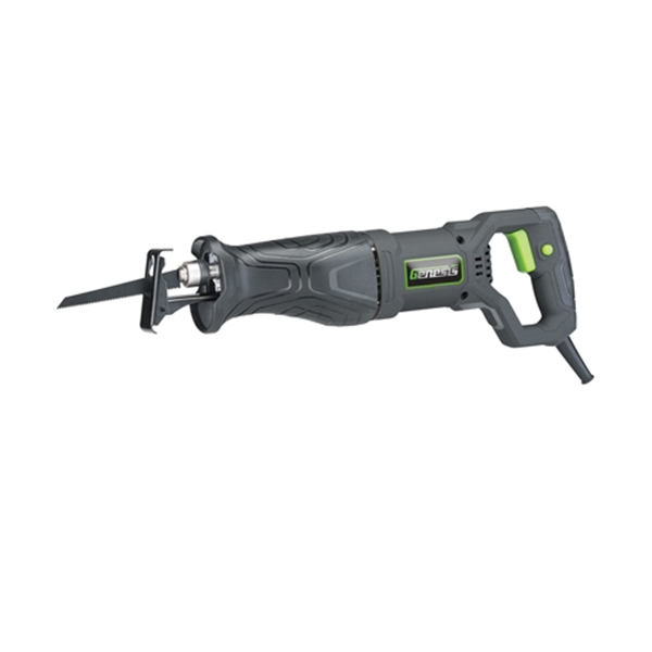 Picture of Genesis GRS750 Reciprocating Saw, 120 V, 7.5 A, 1-1/8 in L Stroke, 0 to 2800 spm SPM