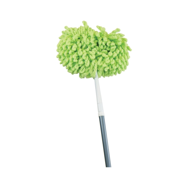 Picture of Quickie 097M-4 Ceiling Fan Cleaner, Microfiber Cloth Head, Steel Handle