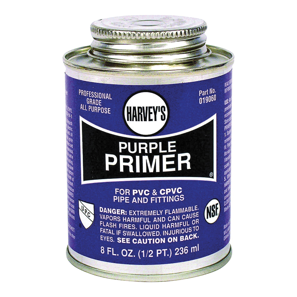 Picture of HARVEY 019060-24 Professional-Grade Primer, Liquid, Purple, 8 oz Package, Can