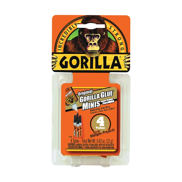 Picture of Gorilla 5000503 Glue, Brown, 0.42 oz Package, Tube
