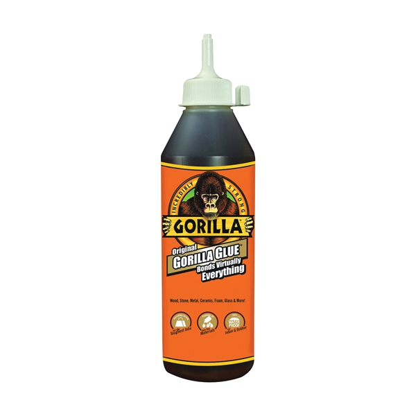 Picture of Gorilla 50018 Glue, Brown, 18 oz Package, Bottle