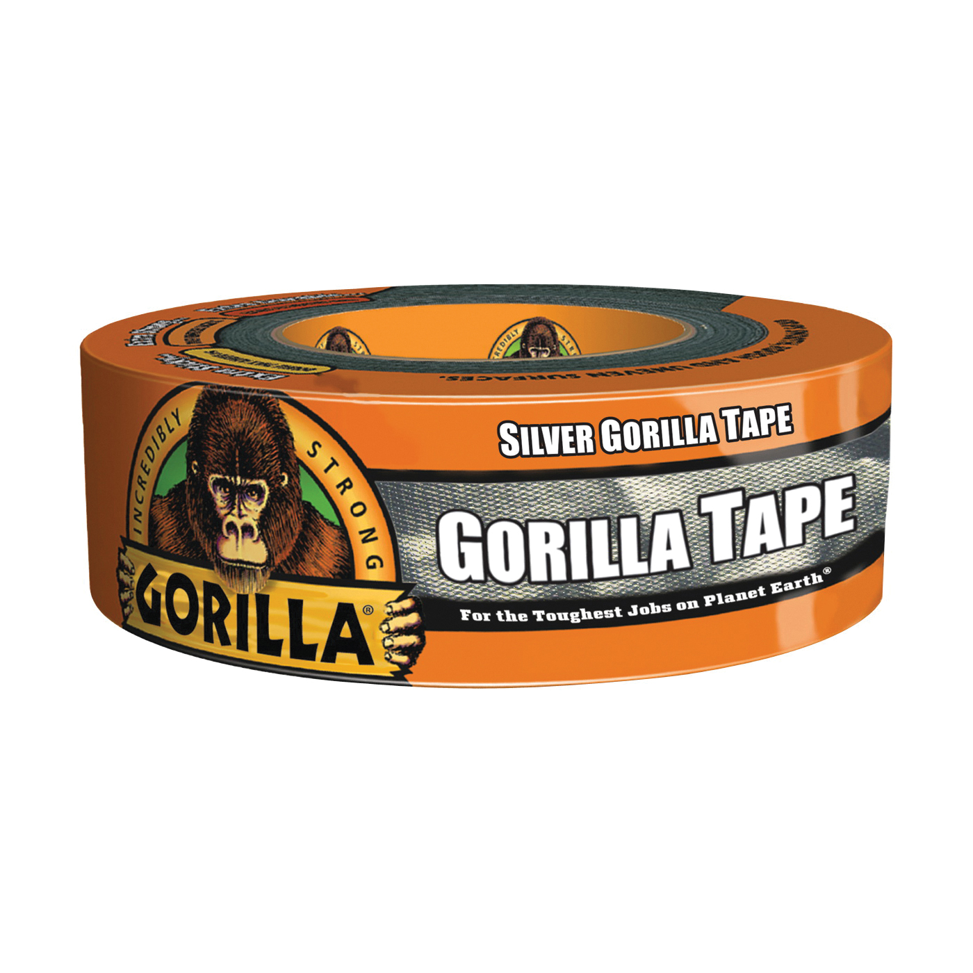 Picture of Gorilla 6074004 Duct Tape, 35 yd L, 2 in W, Silver