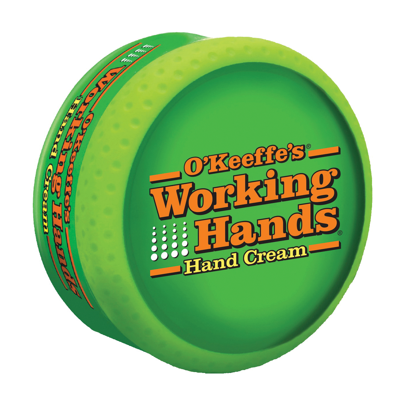 Picture of O'KEEFFE'S Working Hands K0350007 Hand Cream, Odorless, 3.4 oz Package, Jar