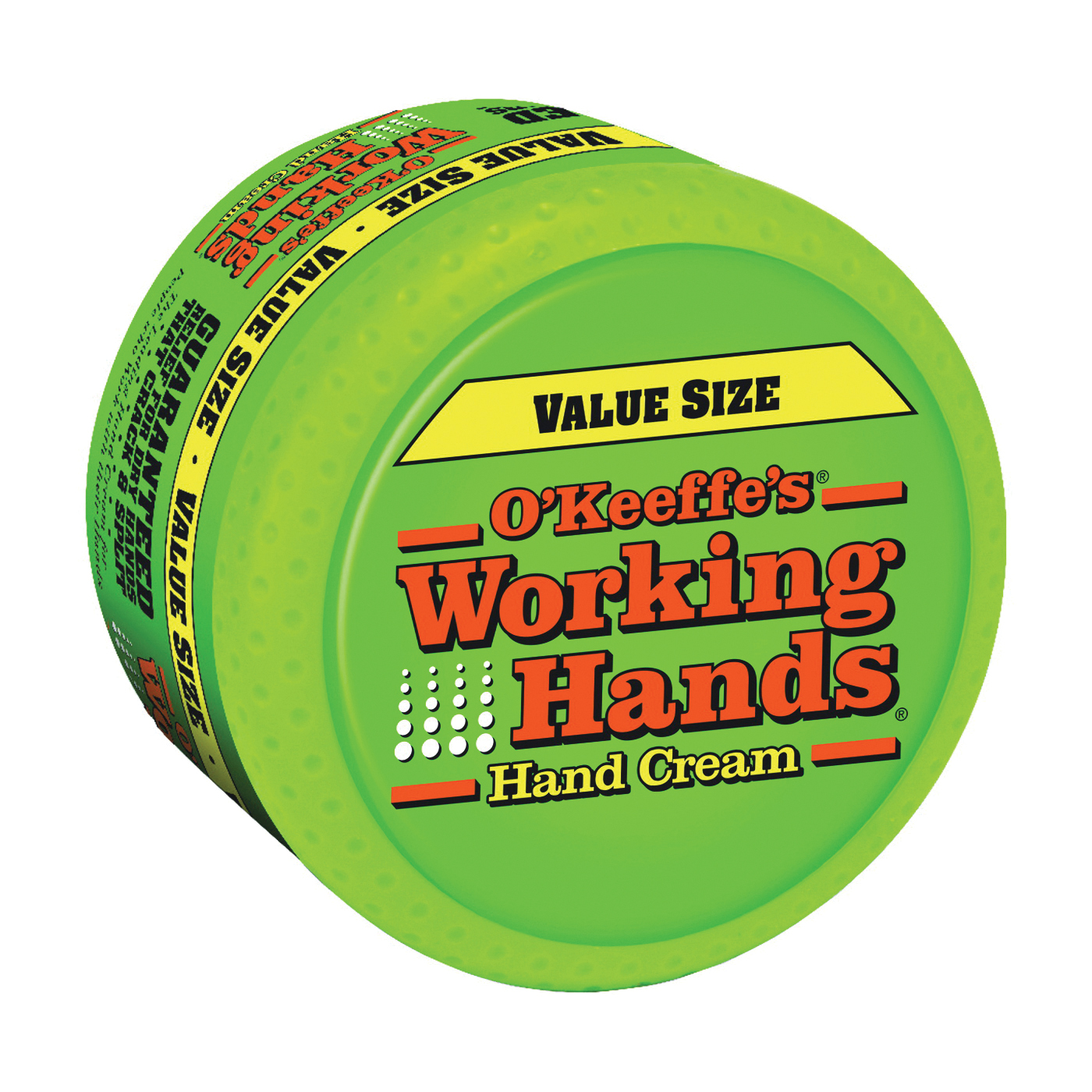 Picture of O'KEEFFE'S Working Hands K0680001 Hand Cream, Mild Stearic Acid, 6.8 oz Package, Jar