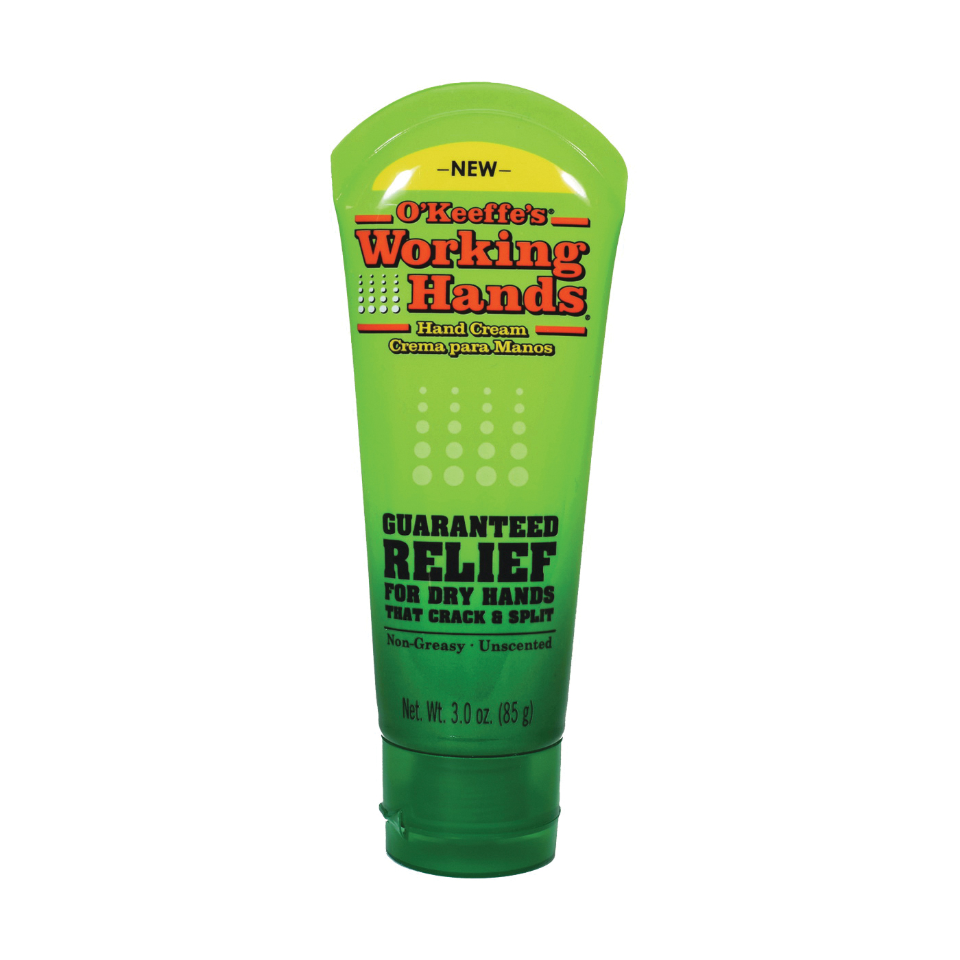 Picture of O'KEEFFE'S Working Hands K0290001 Hand Cream, Mild Stearic Acid, 3 oz Package, Tube