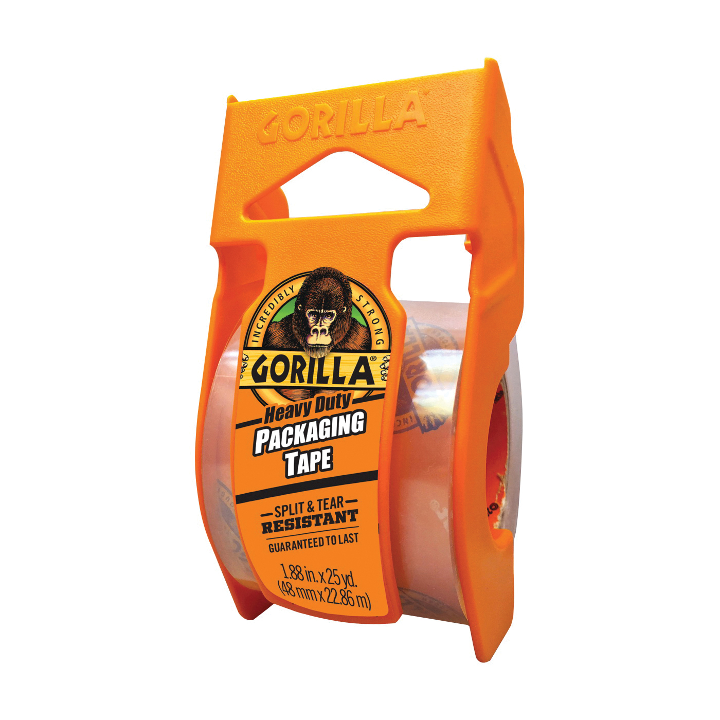 Picture of Gorilla 6034002 Packaging Tape, 25 yd L, 1.88 in W, Clear