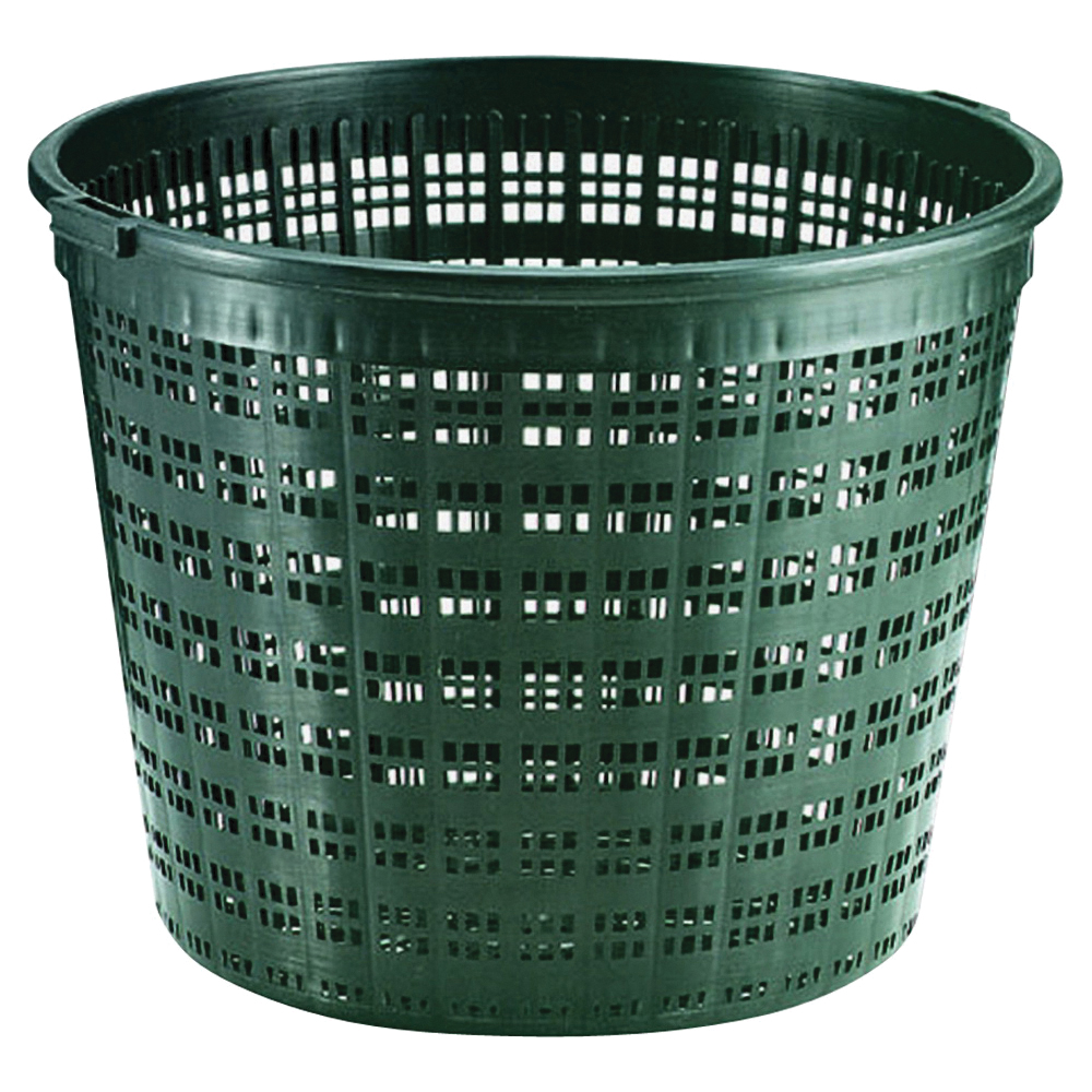 Picture of Little Giant 566553 Round Plant Basket, Black