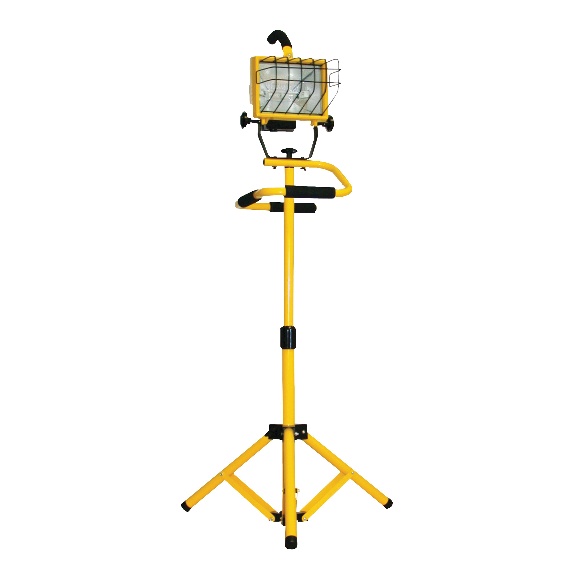 Picture of PowerZone ORHLT5006 Work Light, 120 V, 500 W, Halogen Lamp, Yellow