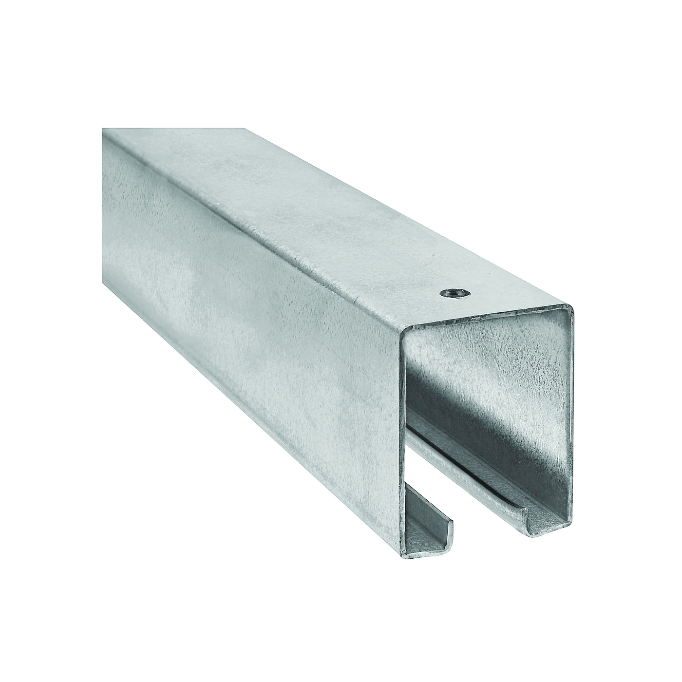 Picture of National Hardware N105-213 Box Rail, Steel, Galvanized, 1-57/64 in W, 2-13/32 in H, 10 ft L
