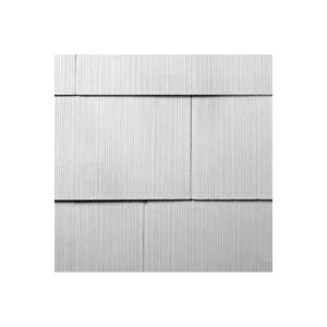 Picture of GAF WeatherSide 2213000WG Shingle Siding, 12 in L, 24 in W, 11/64 in Thick, Straight Edge, White