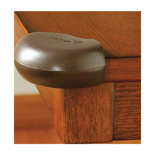 Picture of Safety 1st HS164 Corner Bumper, Foam, Espresso, For: Tables, Counters, Home Furniture, 4, Pack