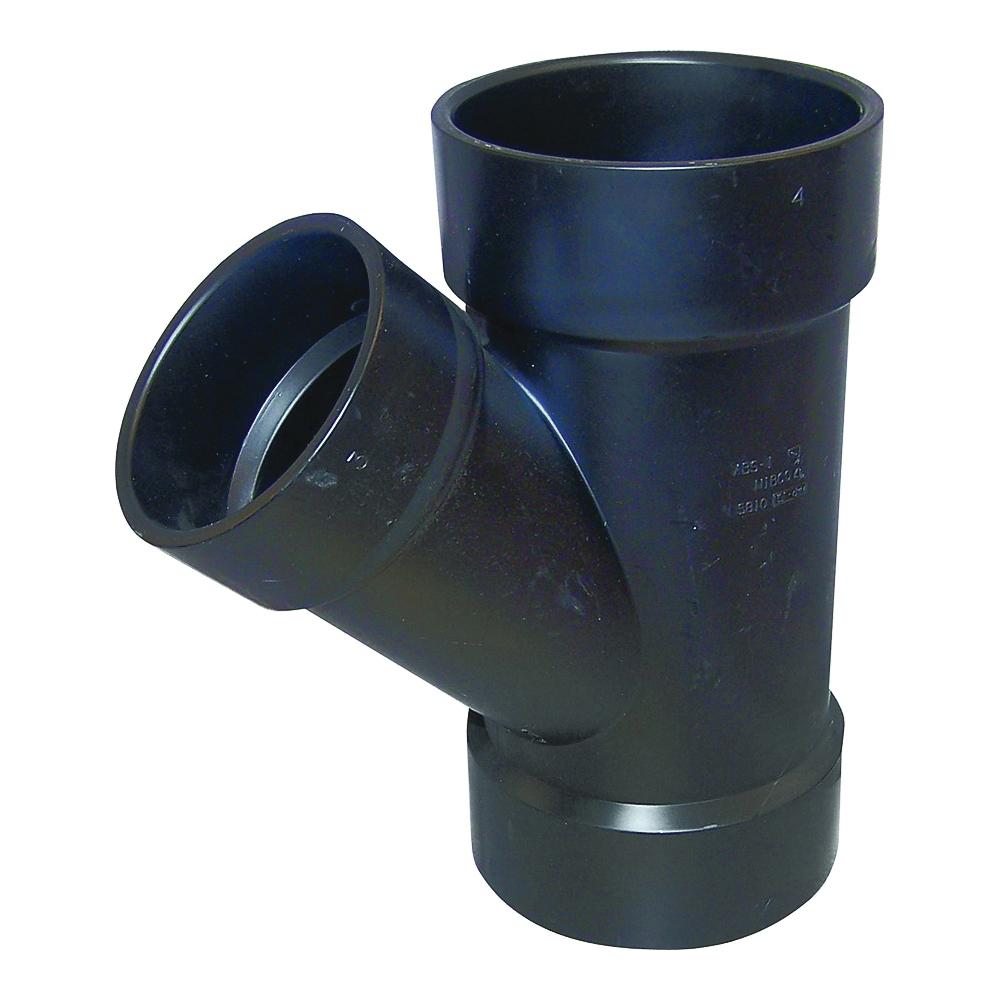Picture of GENOVA 81043 Pipe Reducing Wye, 4 in Hub, 4 in, 3 in