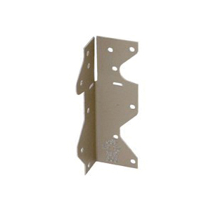 Picture of MiTek MPA1-GC Framing Angle, 1-1/2 in W, 1-7/16 in D, 4-1/2 in H, Steel, Gold