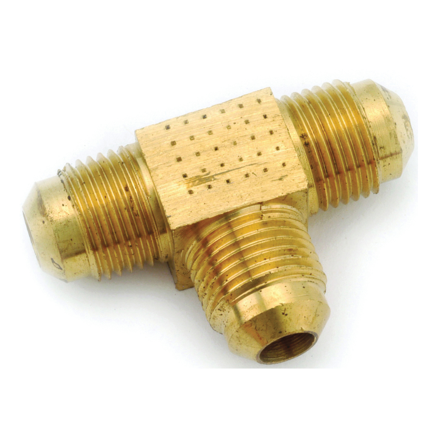 Picture of Anderson Metals 754044-04 Tube Union Tee, 1/4 in, Flare, Brass