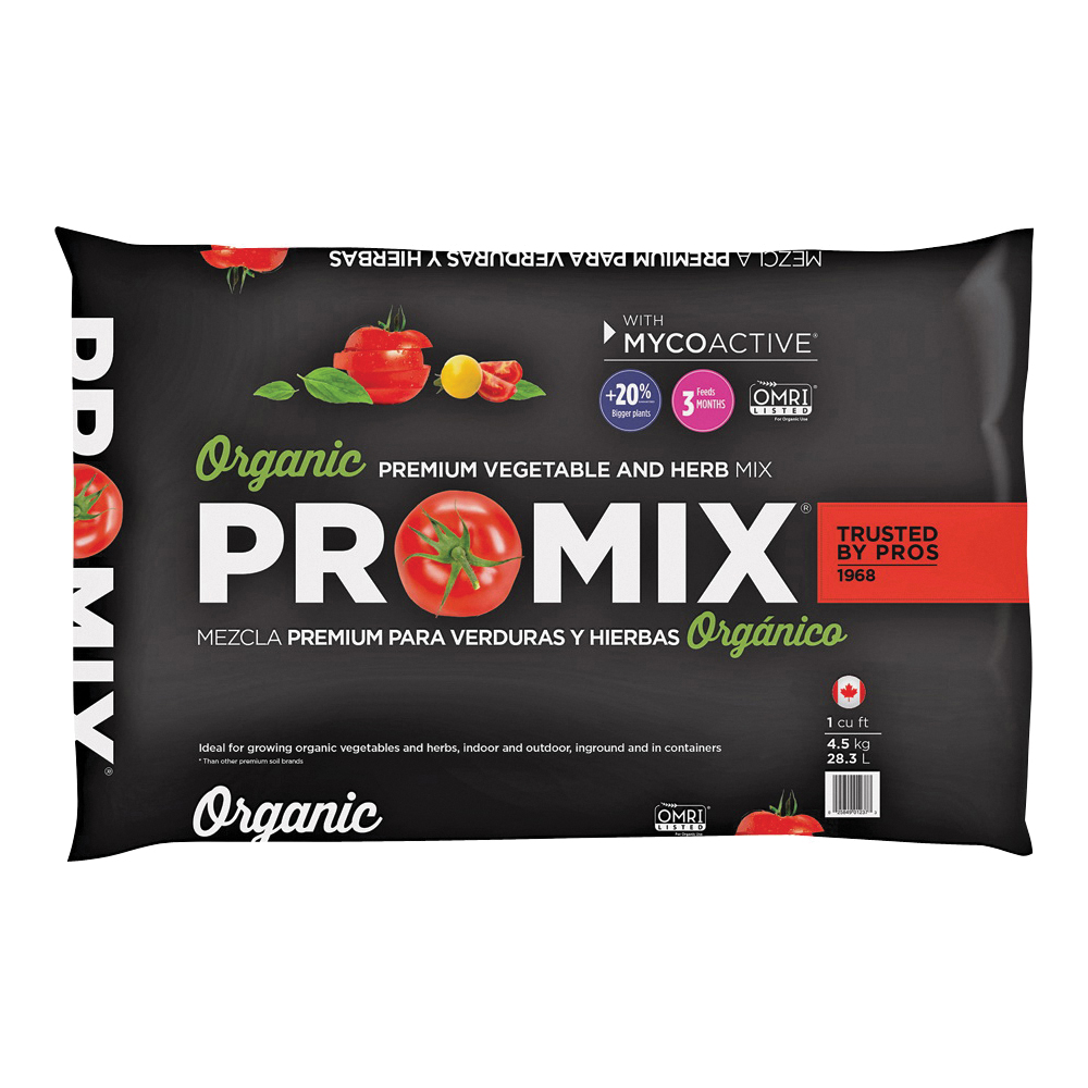 Picture of PRO-MIX 1010051RG Vegetable and Herb Mix, 1 cu-ft Coverage Area