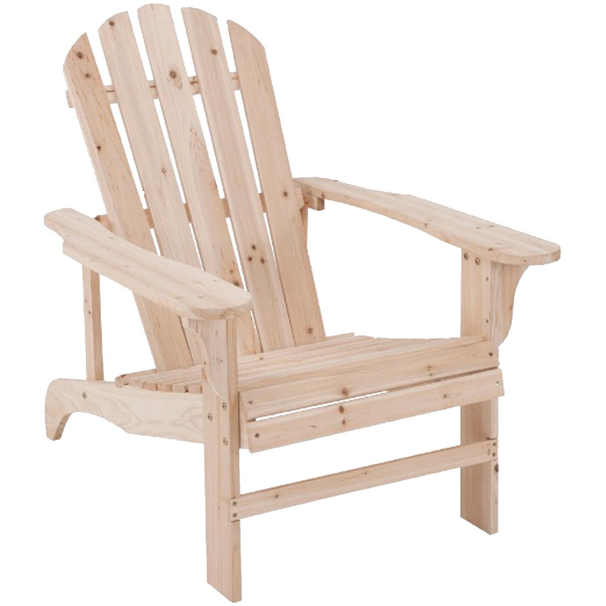 Picture of Seasonal Trends JN-16N Adirondack Chair, 5-1/4 in W, 20-1/2 in D, 36-3/4 in H, Cypress Seat, Cypress Frame