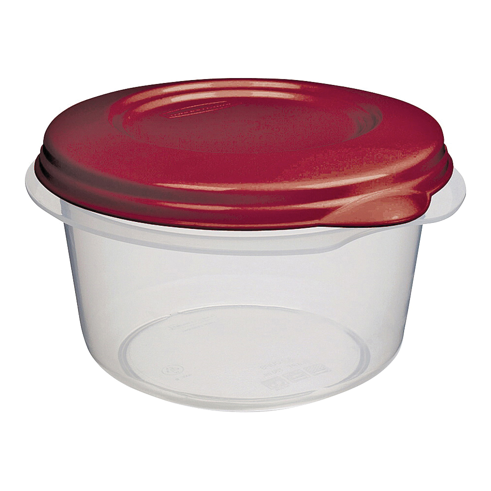 Picture of Rubbermaid 1777166 Food Container Set, Plastic, Clear