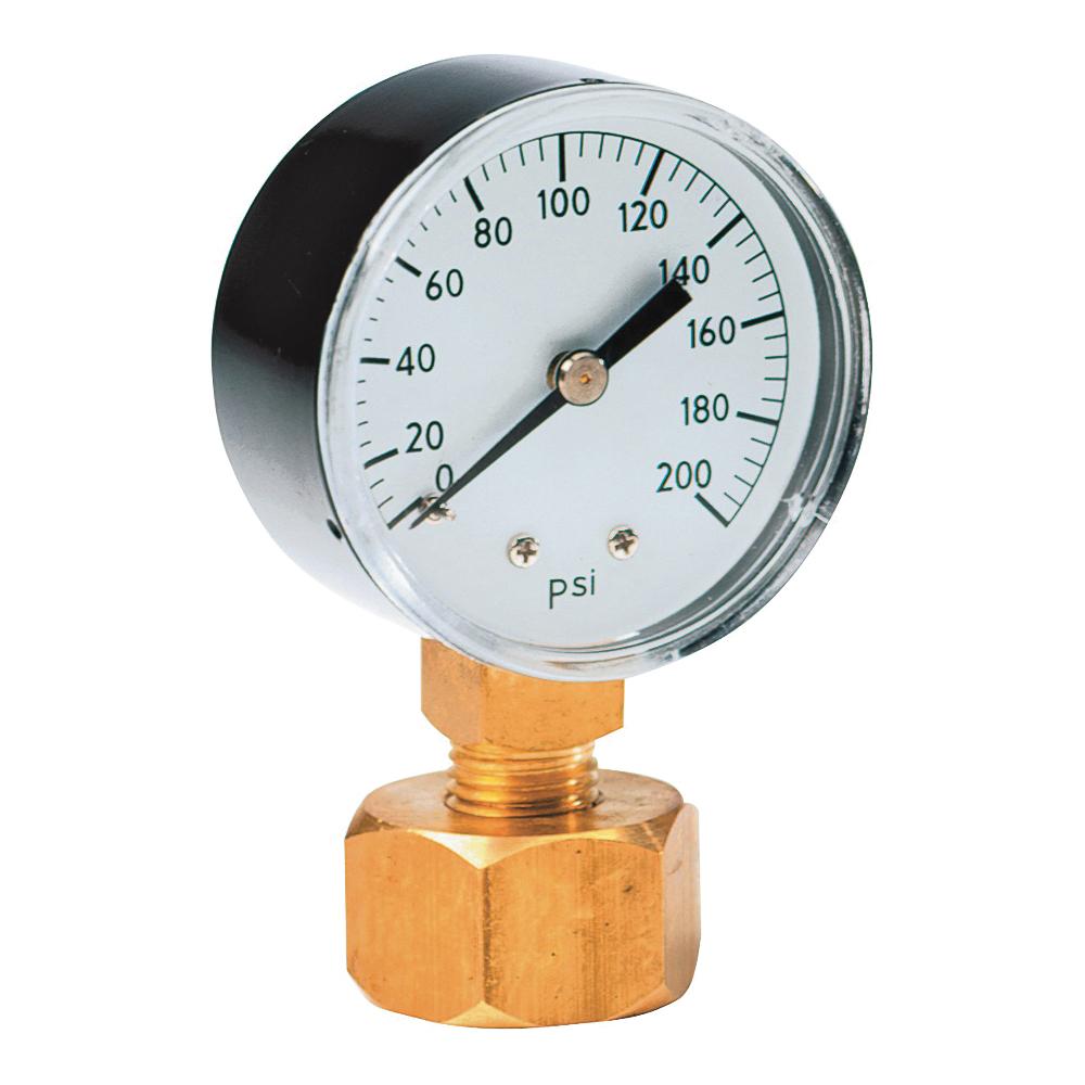 Picture of Rain Bird P2A Water Pressure Gauge, Brass