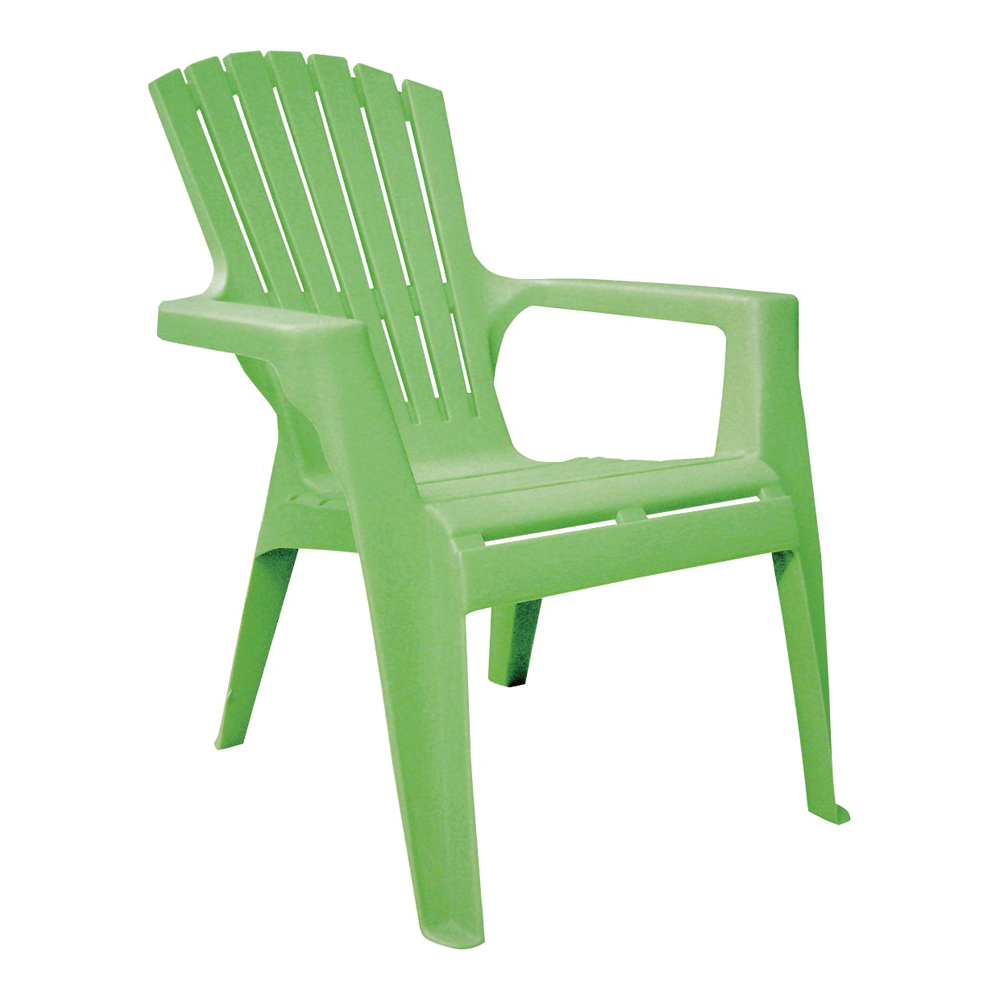 Picture of Adams 8460-08-3731 Kids Adirondack Chair, 18-1/4 in W, 23 in D, 23-3/4 in H, Polypropylene Frame