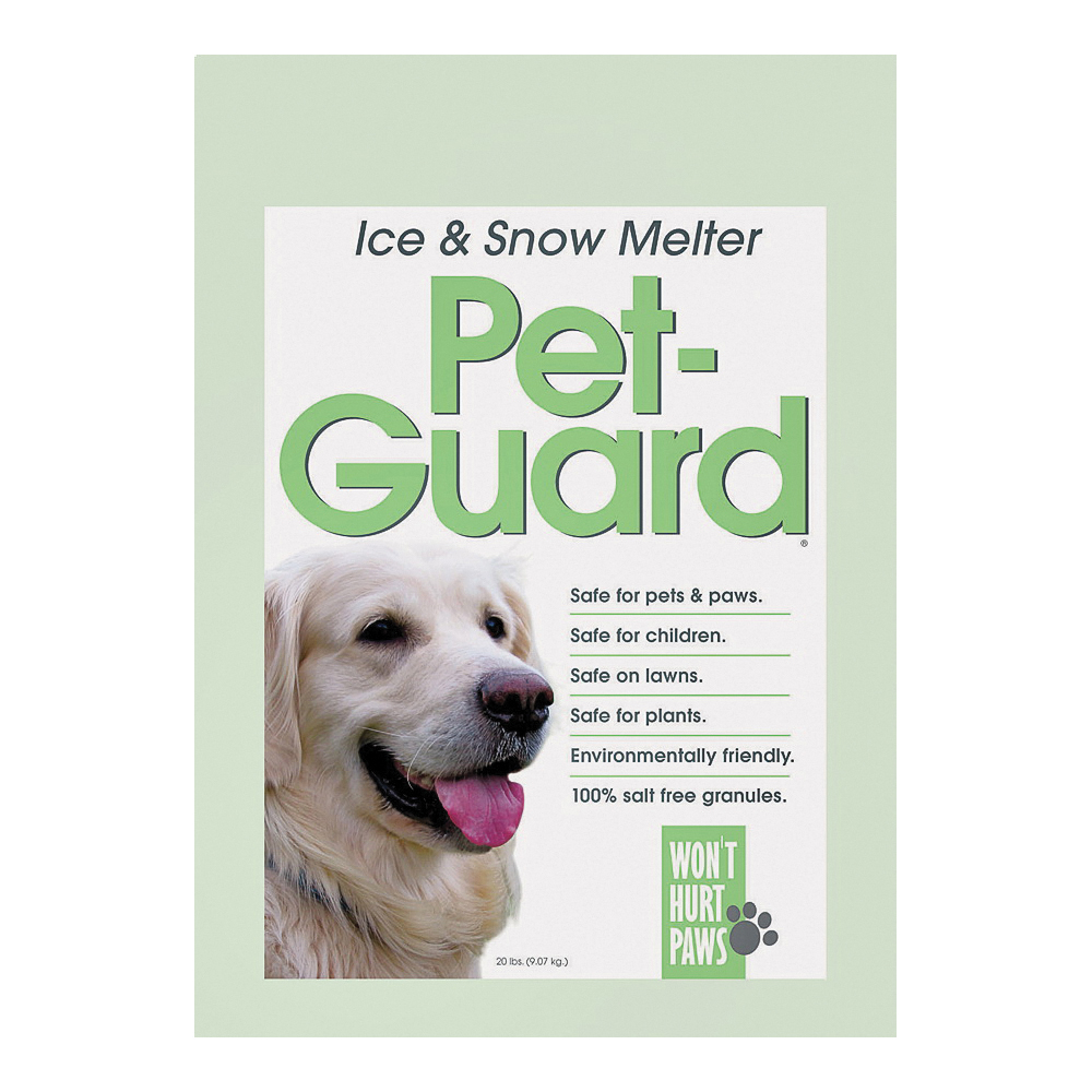 Picture of HJ Pet-Guard 9597 Ice Melter, Granular, Green, 20 lb Package, Bag