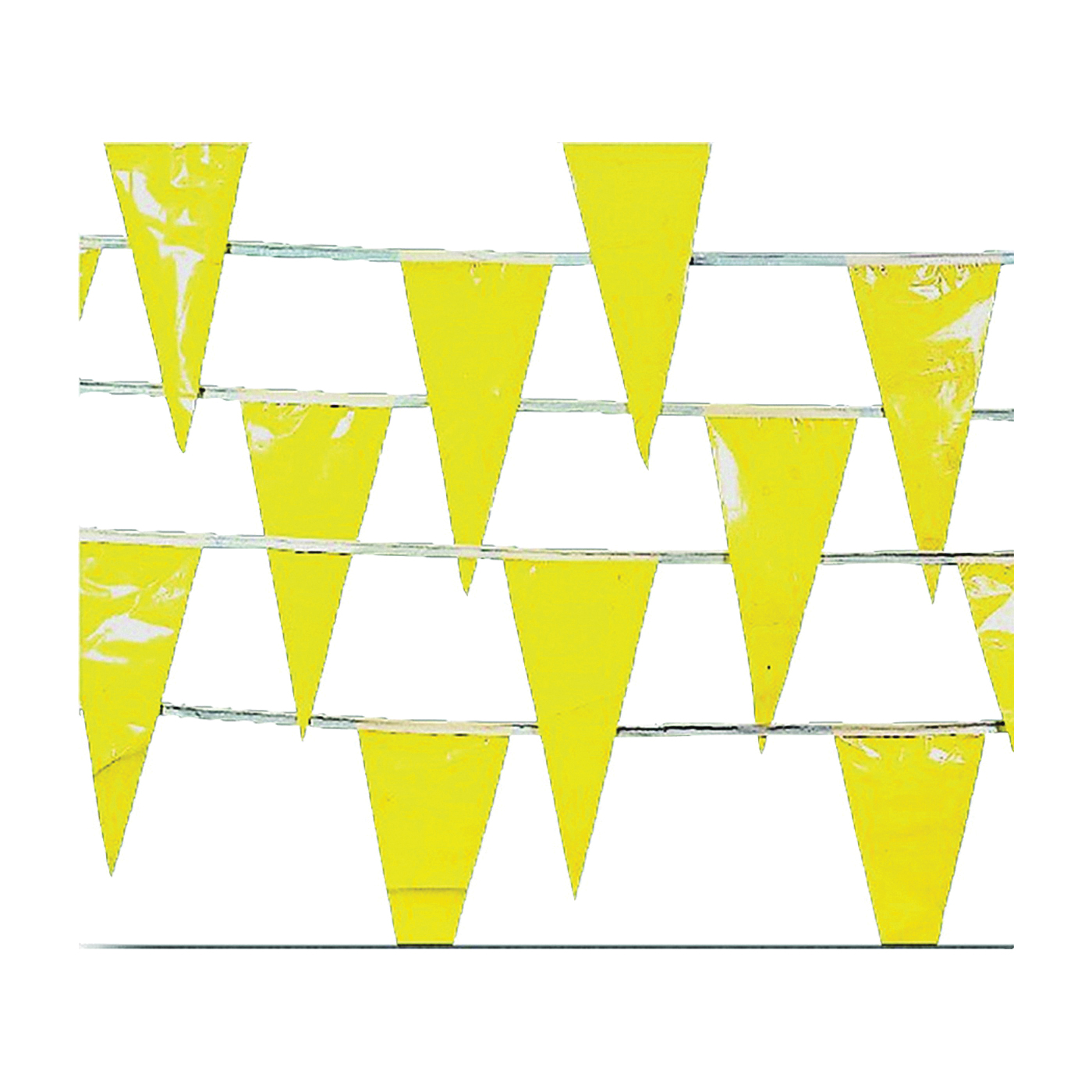 Picture of MUTUAL INDUSTRIES 15903-41 Perimeter Marker, 105 ft L, 12 in W, Yellow, HDPE