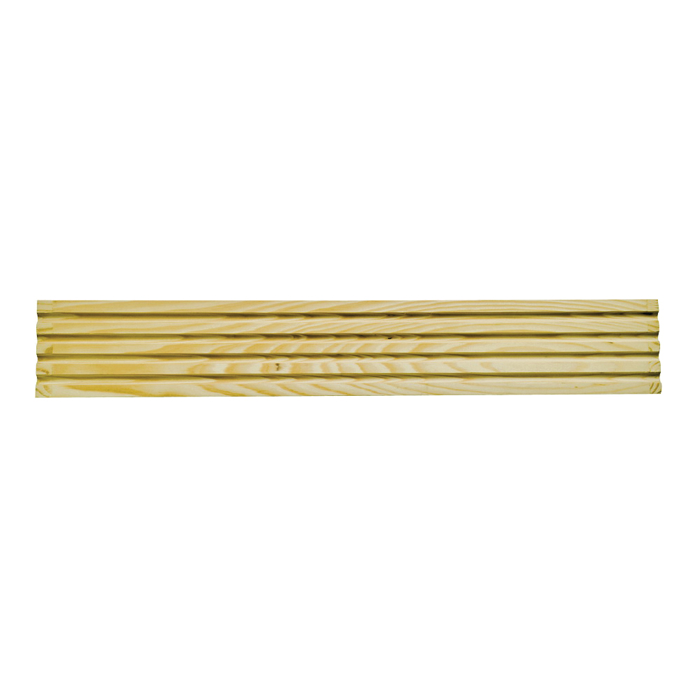 Picture of Waddell RFC37 Fluted Casing, 3-1/4 in W, Pine