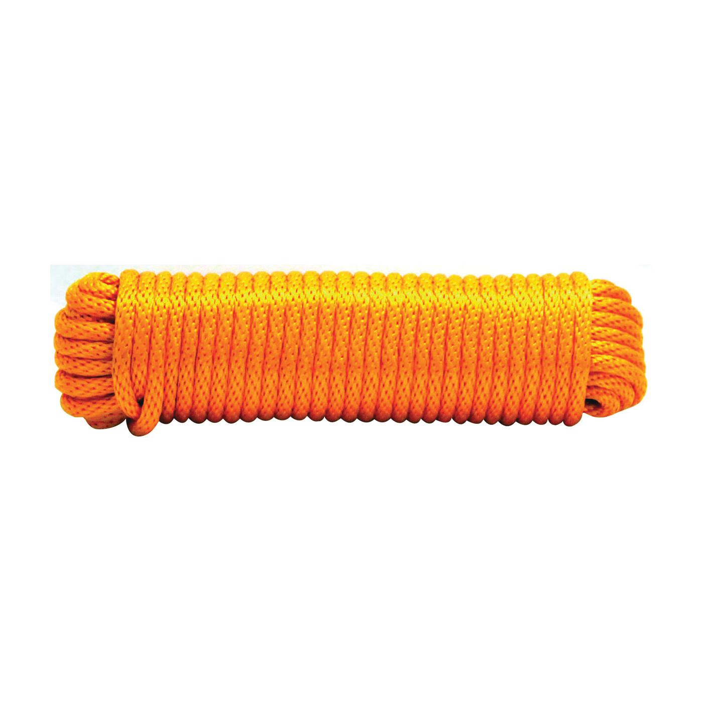 Picture of SecureLine MFP1675-2P Rope, 1/2 in Dia, 75 ft L, Polypropylene, Orange, Hank
