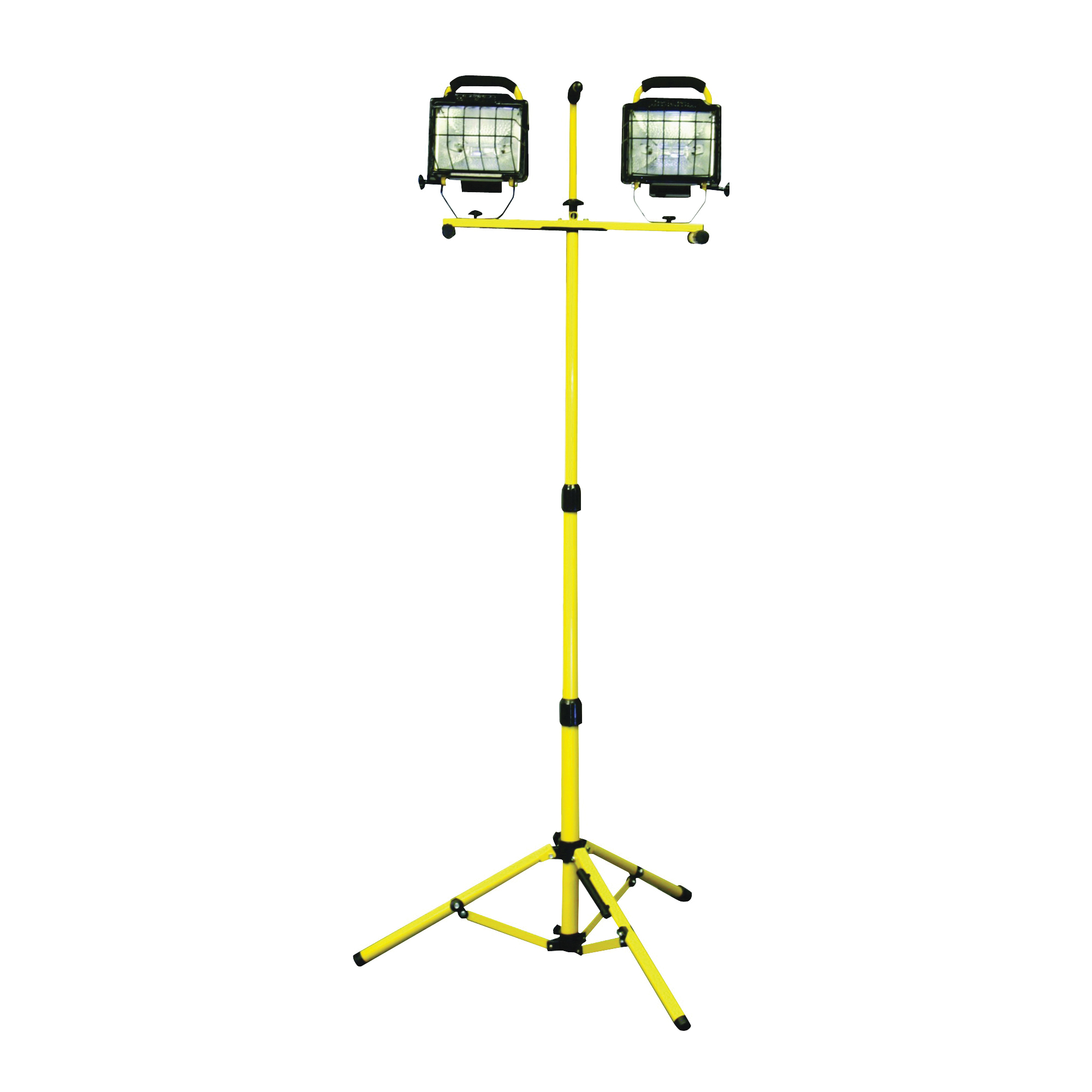 Picture of PowerZone ORHLT500X2 Work Light, 120 V, 1 W, 2-Lamp, Halogen Lamp, Yellow