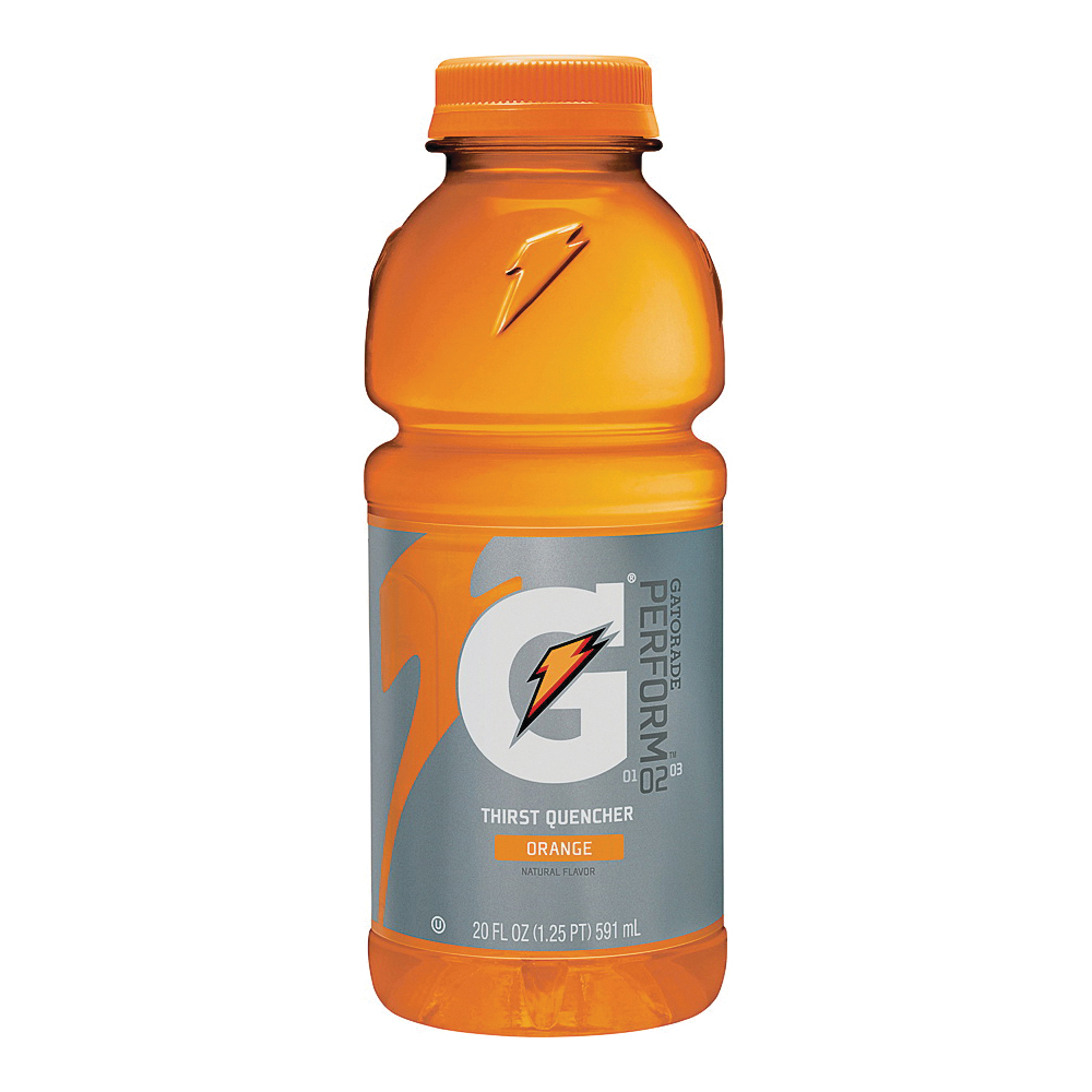 Picture of Gatorade G 32867 Thirst Quencher Sports Drink, Liquid, Orange Flavor, 20 oz Package, Bottle