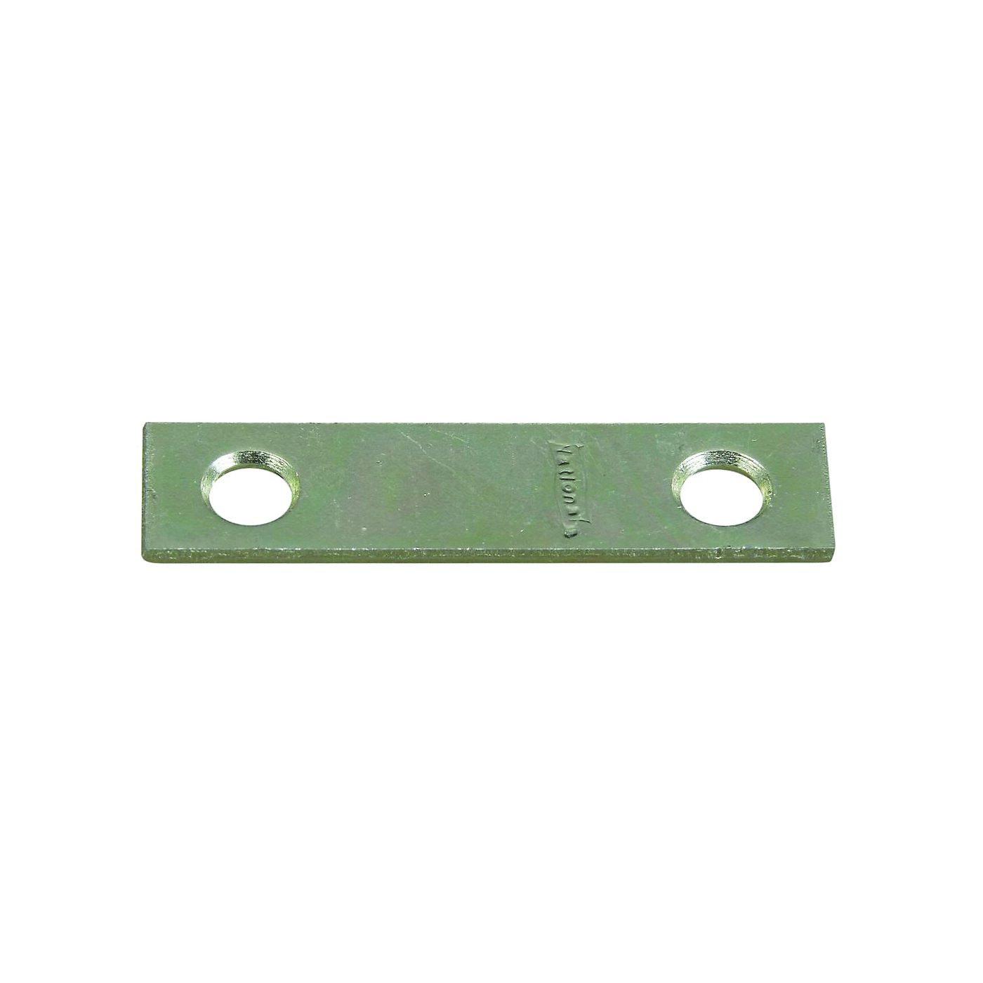 Picture of National Hardware 272716 Mending Brace, 2 in L, 1/2 in W, Steel, Zinc, Screw Mounting