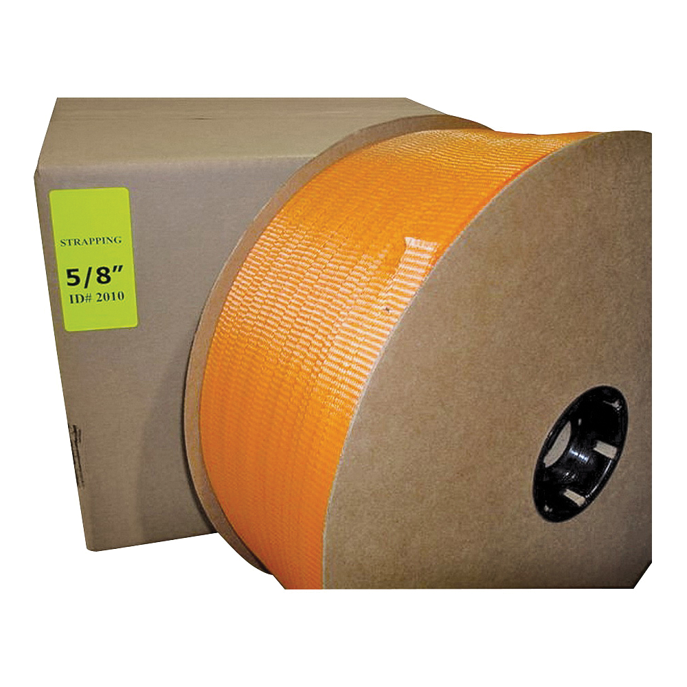 Picture of TransTech SP2015 Strapping Coil, 2000 ft L, 5/8 in W, Polyester