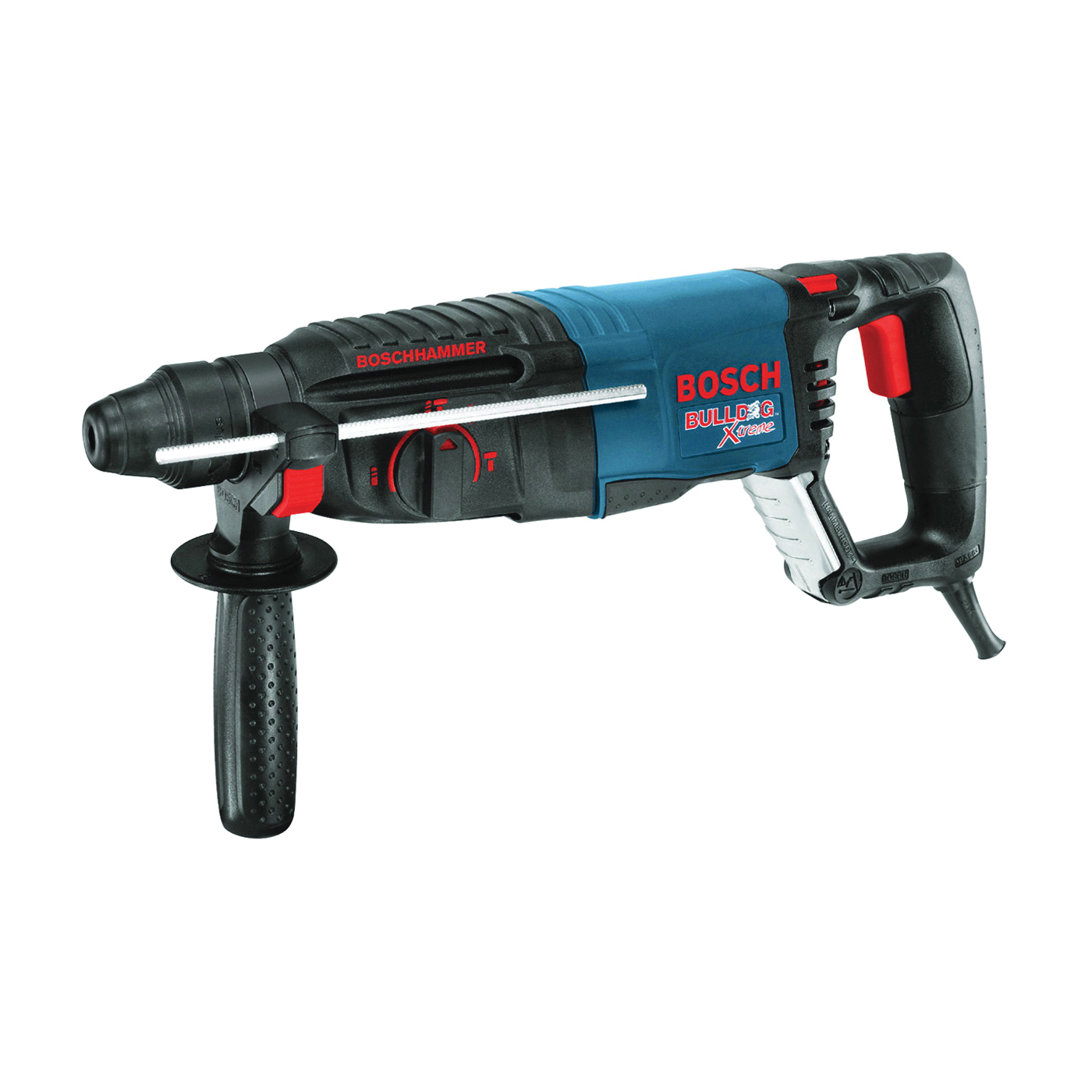 Picture of Bosch 11255VSR Rotary Hammer, 120 V, 1 Carbide Tip Bit, 2-5/8 in Core Bit Drilling, 3/4 in Chuck, Keyless Chuck