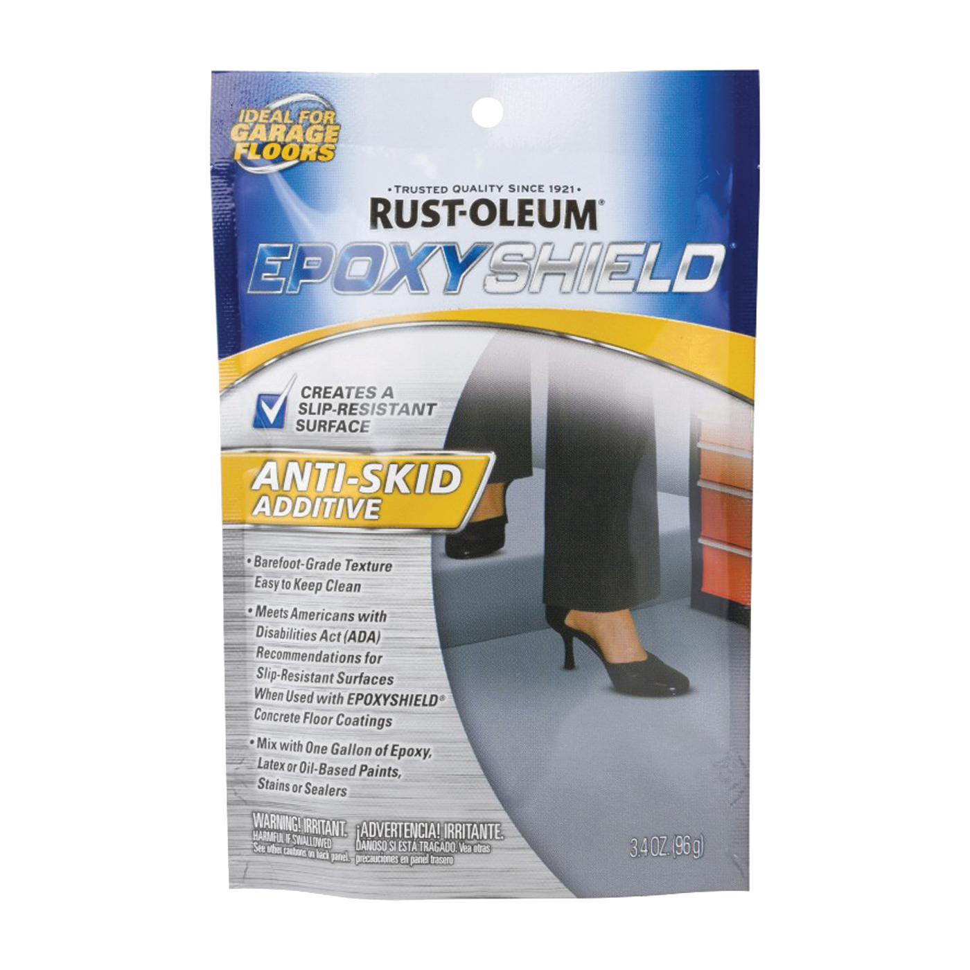 Picture of RUST-OLEUM 279847 Anti-Skid Additive, Solid, Solvent-Like, 3.4 oz, Pouch