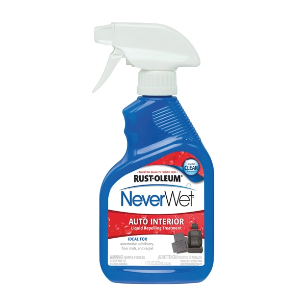 Picture of RUST-OLEUM NeverWet 280884 Water Repelling Treatment, Liquid, Clear, 11 oz, Spray Bottle