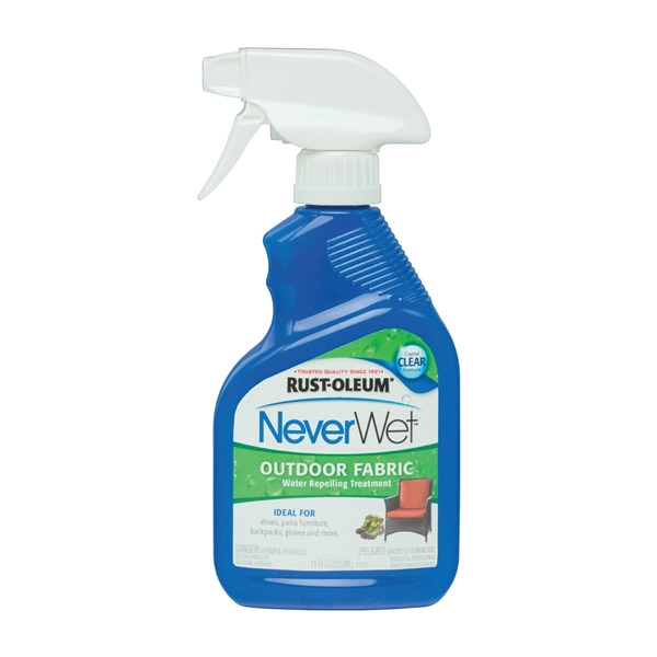 Picture of RUST-OLEUM NeverWet 278146 Water Repelling Treatment, Liquid, Clear, 11 oz, Spray Bottle