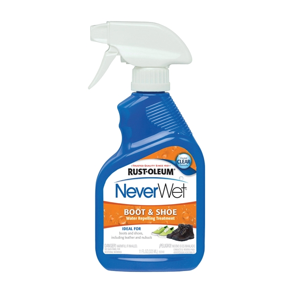 Picture of RUST-OLEUM NeverWet 280886 Water Repelling Treatment, Liquid, Clear, 11 oz, Spray Bottle