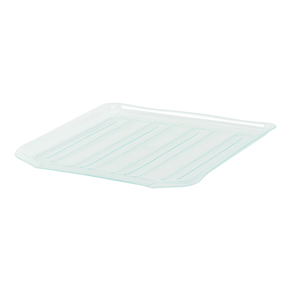 Picture of Rubbermaid 1180MACLR Drain Board, 15.38 in L, 14.38 in W, 1.3 in H, Plastic, Clear