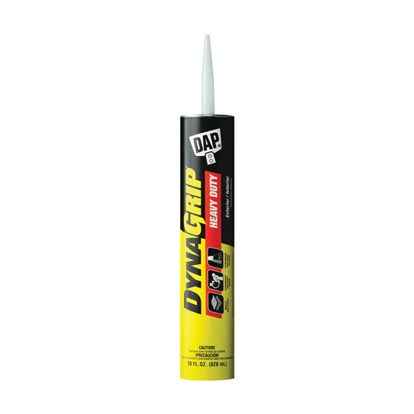 Picture of DAP DYNAGRIP 27510 Construction Adhesive, Off-White, 28 oz Package, Cartridge