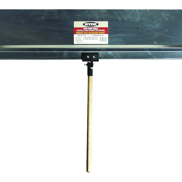 Picture of HYDE ProShield 28040 Spray Shield, 48 x 9 in Blade, Hardwood Handle, ACME Threaded Handle